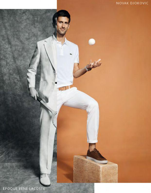 Novak Djokovic Is Lacoste S New Style Ambassador Esquire Middle East