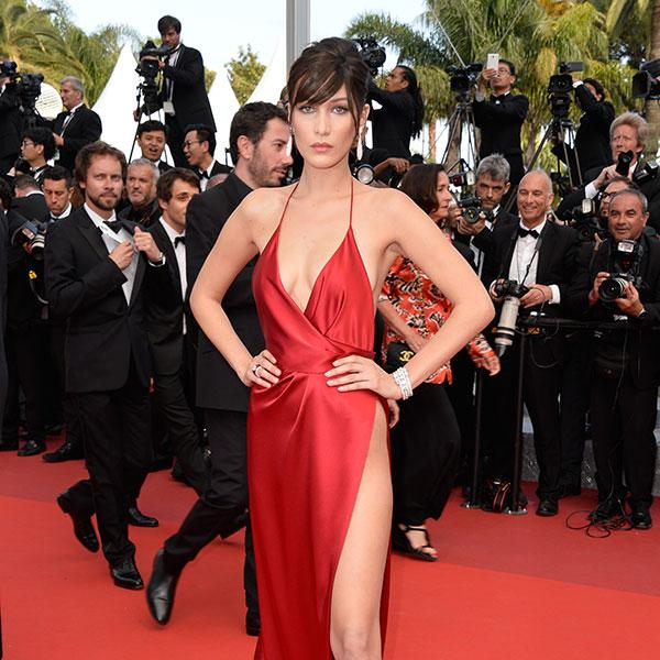 Bella Hadid at the 69th Cannes Film Festival in May 2016