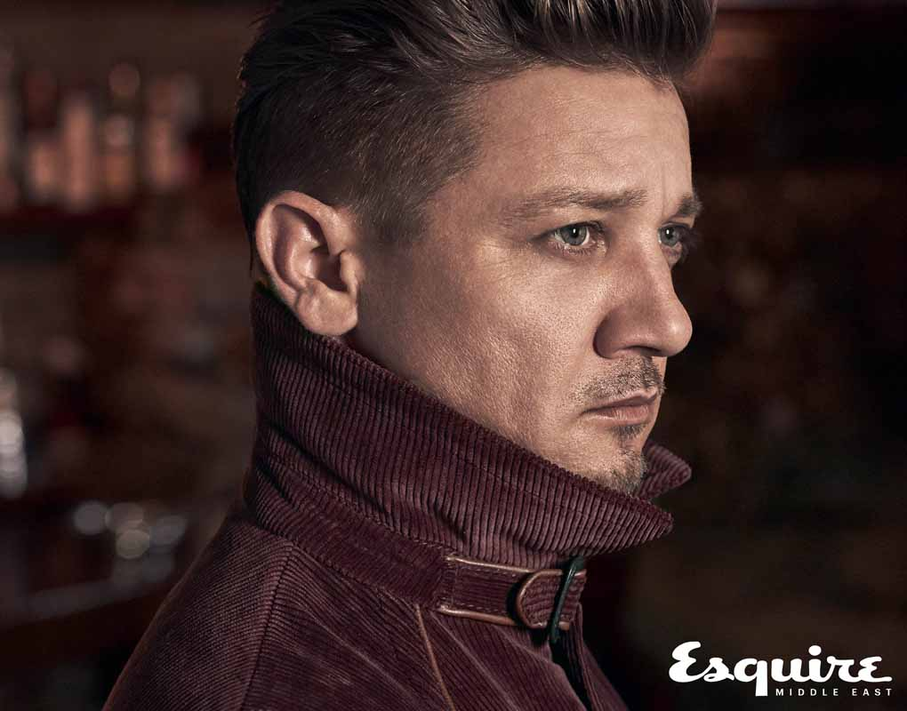 Jeremy Renner for Esquire
