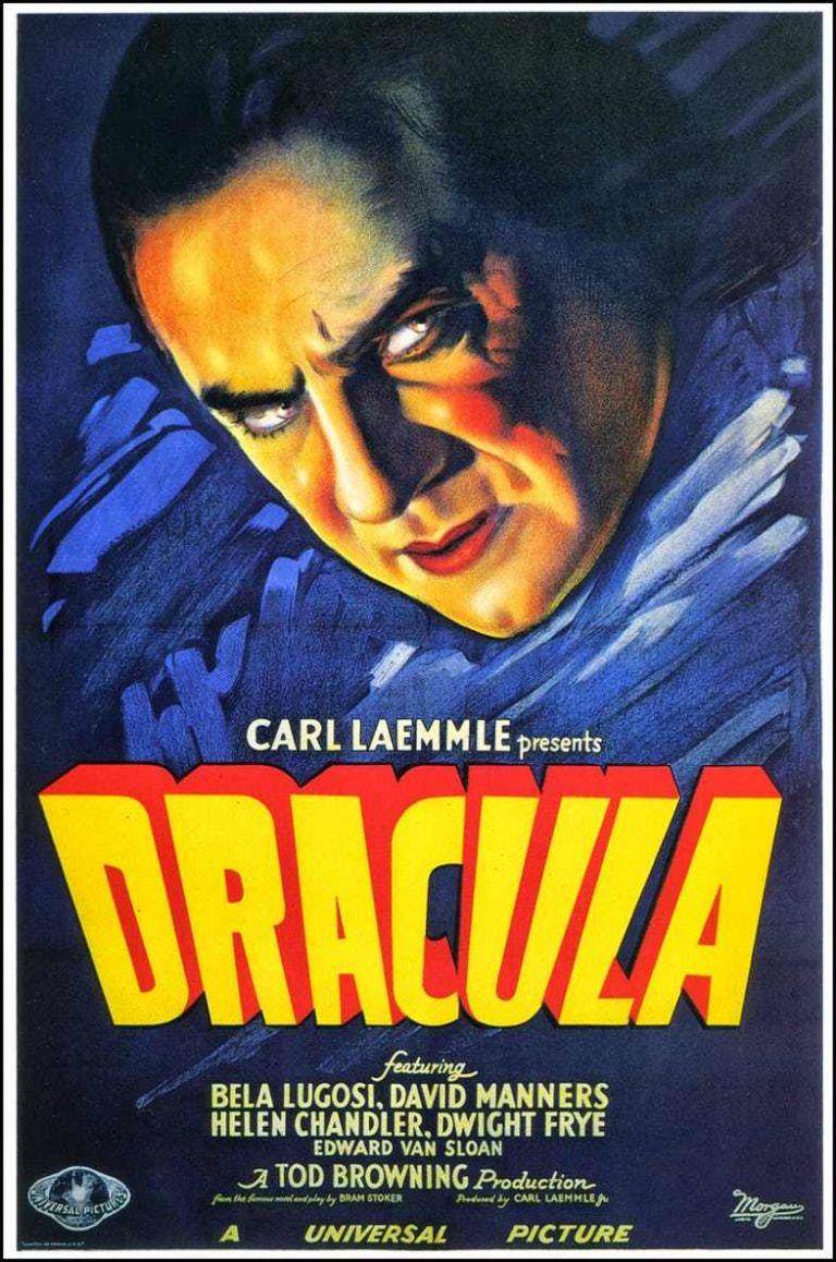 Bram Stoker Dracula Movie Poster