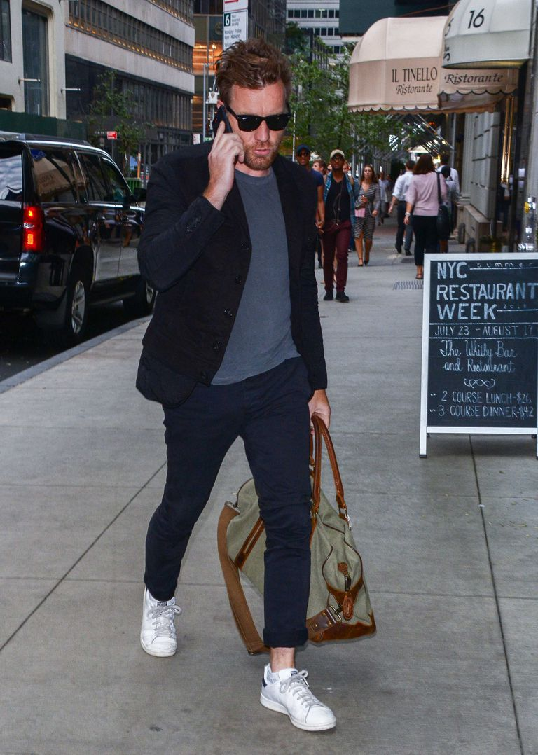 How To Dress For A Night Out And Morning After By Ewan Mcgregor Esquire Middle East