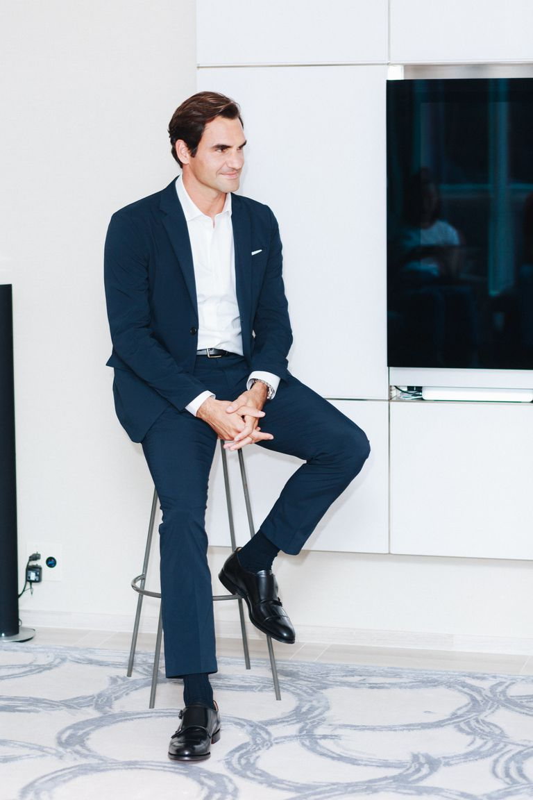 You Can Now Buy Roger Federer S Uniqlo Collection Esquire Middle East