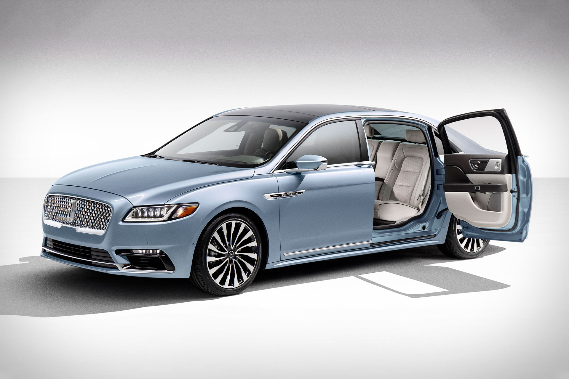New 2019 Lincoln Continental has rear-opening doors ...