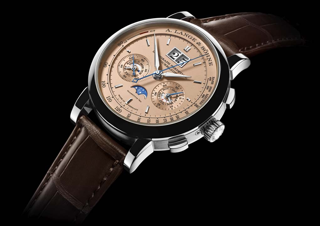Datograph pink gold