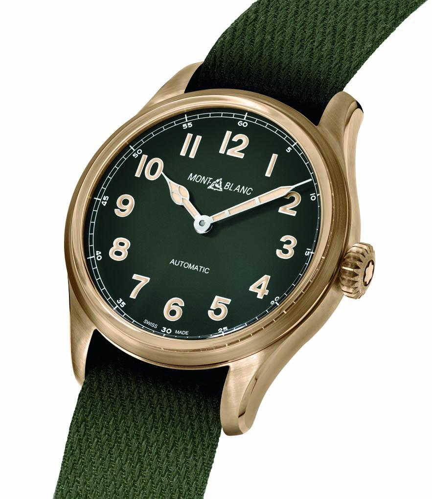 Montblanc 1858 brass green