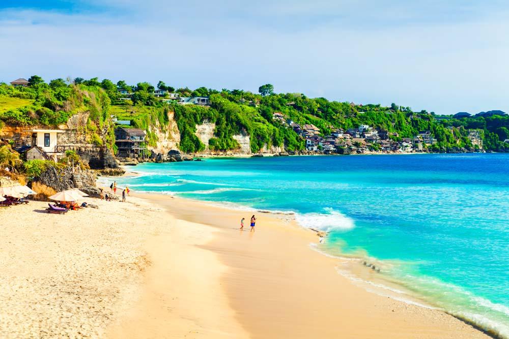 Catch some sun in Bali Indonesia
