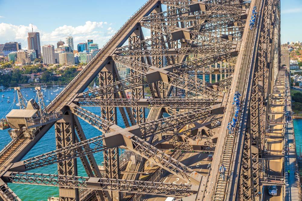 Climb Sydney Harbour Bridge Australia