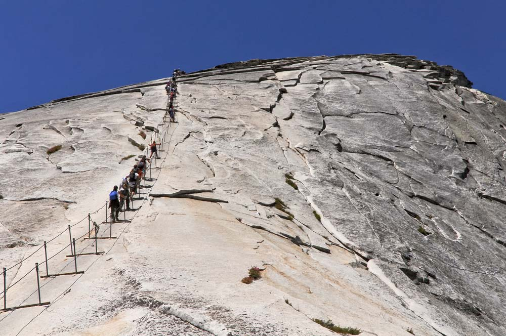 Scale the Dome at Yosemite United States