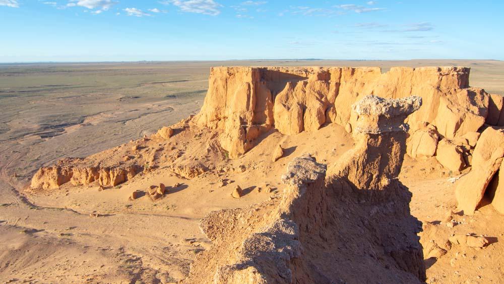 Discover fossils in the Gobi Desert Mongolia