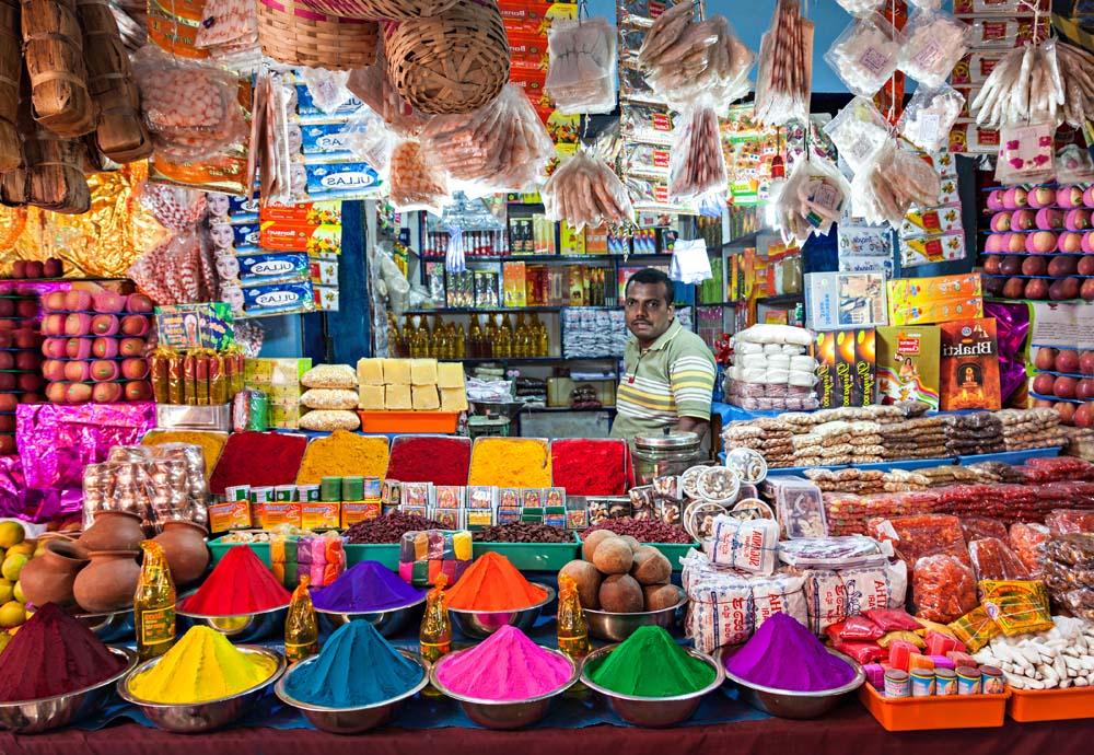 A food tour of Delhi India