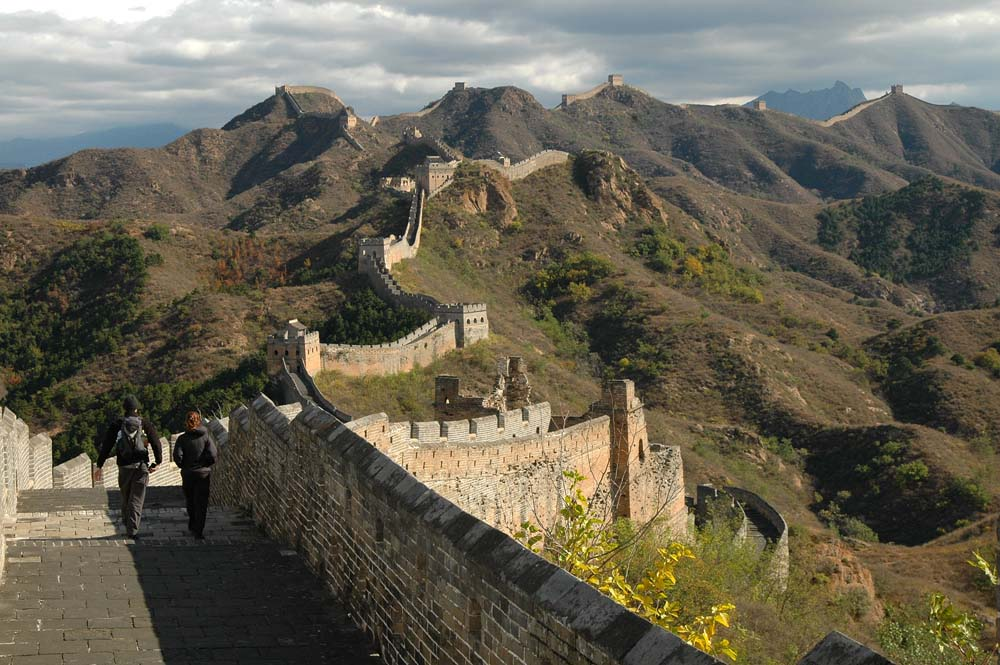 Hike along the Great Wall China