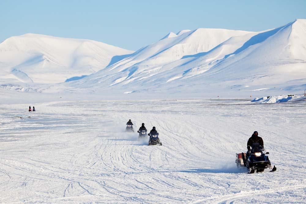 Hitch a ride on a ski-doo Canada