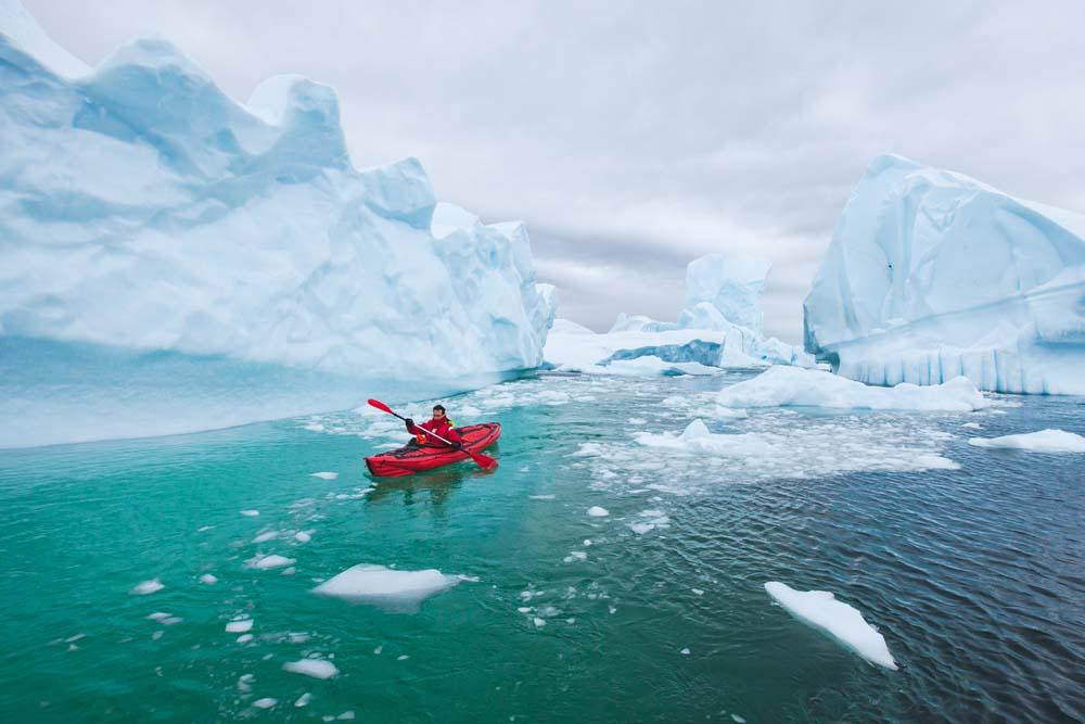 Ultimate Bucket List - Paddle Around an Iceberg Antarctica