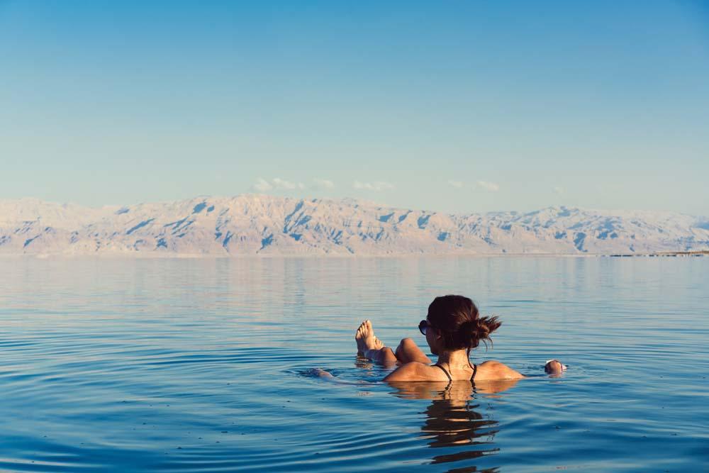 Take a dip in the Dead Sea Jordan