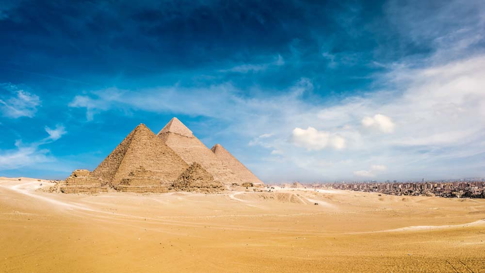 Marvel at the Pyramids Egypt