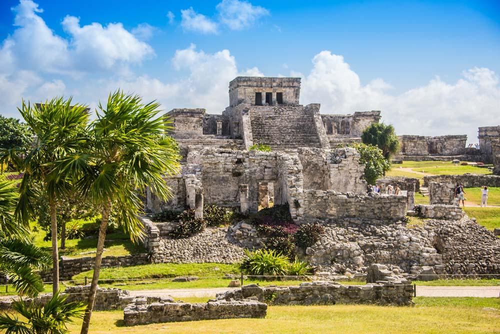 the Mayan Ruins Guatemala