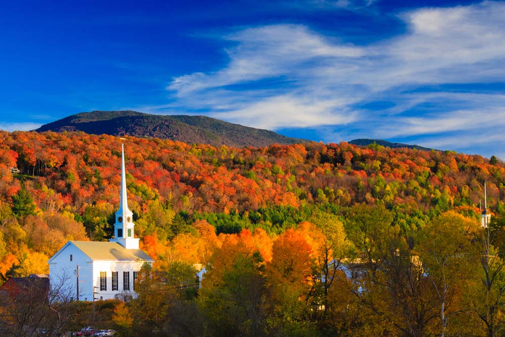 See New England in the Fall United States