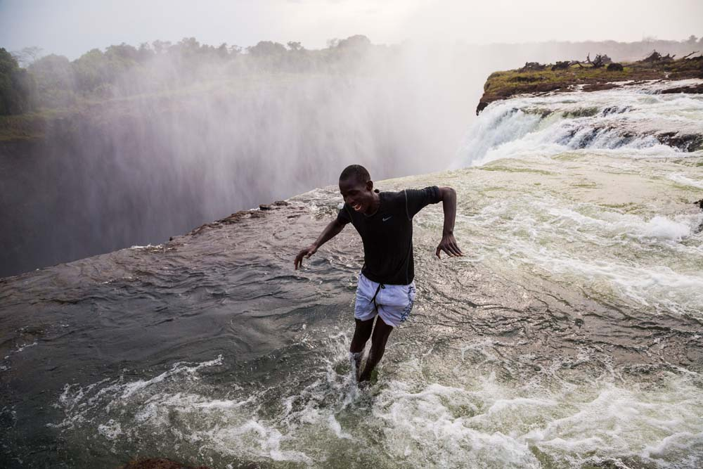 Soak in Victoria Falls Zimbabwe