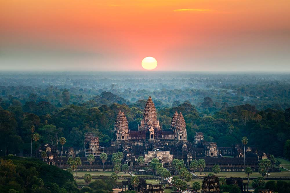 Watch the sun rise over Bagan Myanmar