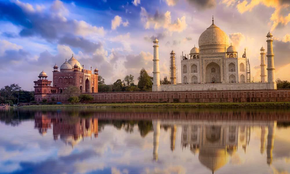 See the Taj Mahal India