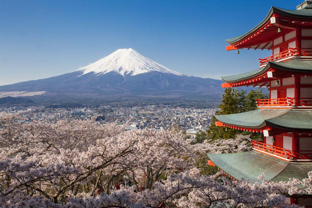Walk Mount Fuji Japan