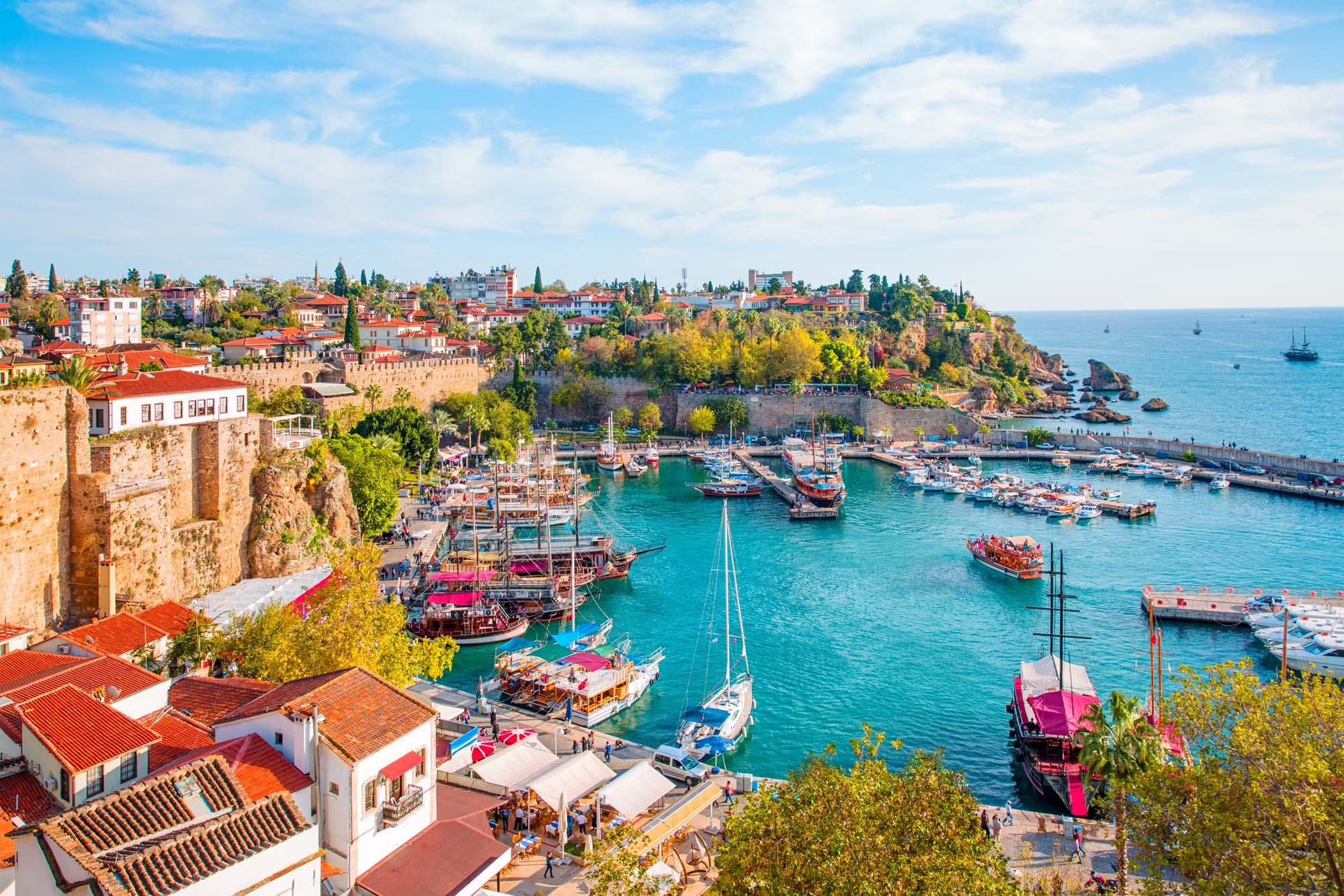 Antalya, Turkey eid summer travel destination ideas