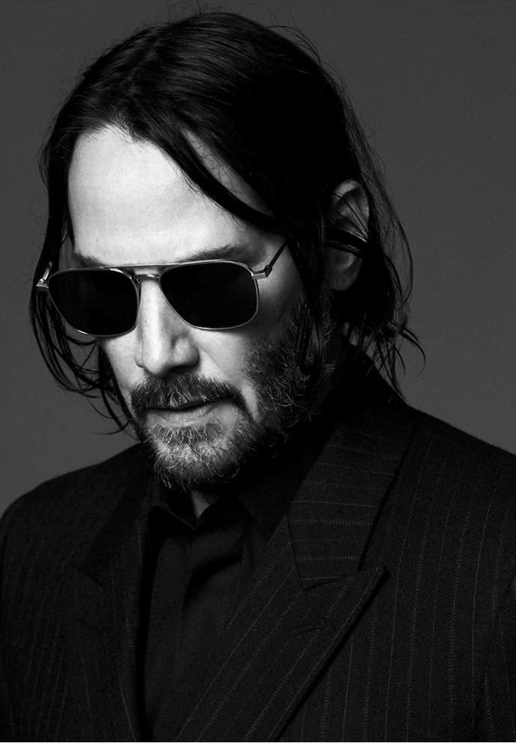 Keanu Reeves Saint Laurent Fall Winter 2019 Campaign