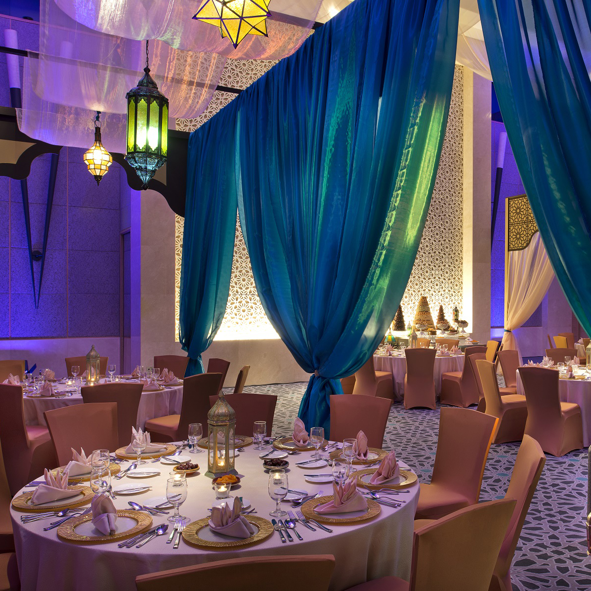 Diamond Ballroom The Address Dubai Iftar Ramadan 2019