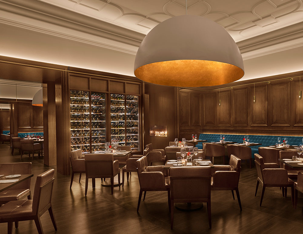 The Oak Room at the Abu Dhabi Edition Hotel