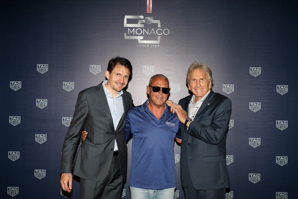 Guy Bove, Chad McQueen and Derek Bell