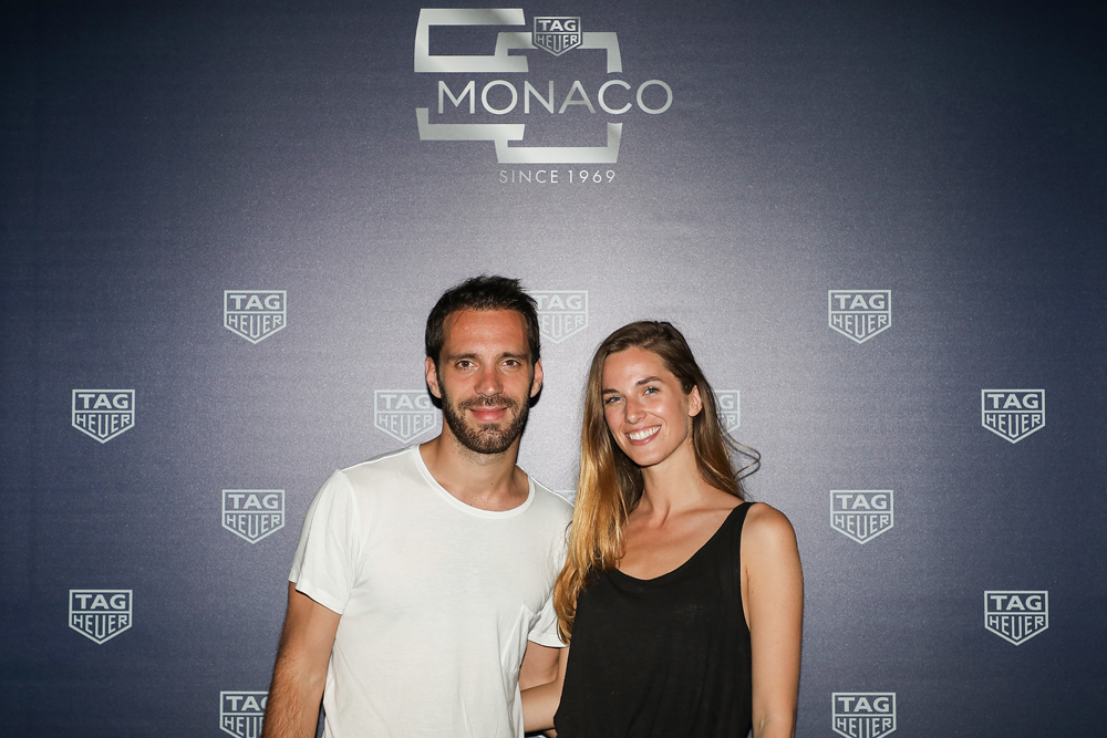 Jean Eric Vergne and Lorene Renard