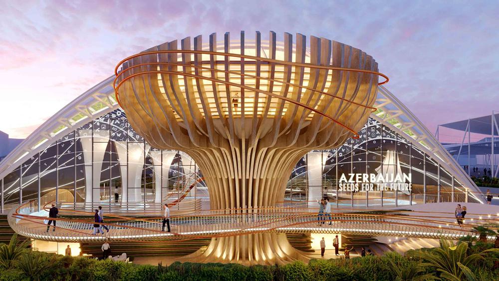 Azerbaijan Expo 2020 Dubai Pavilion