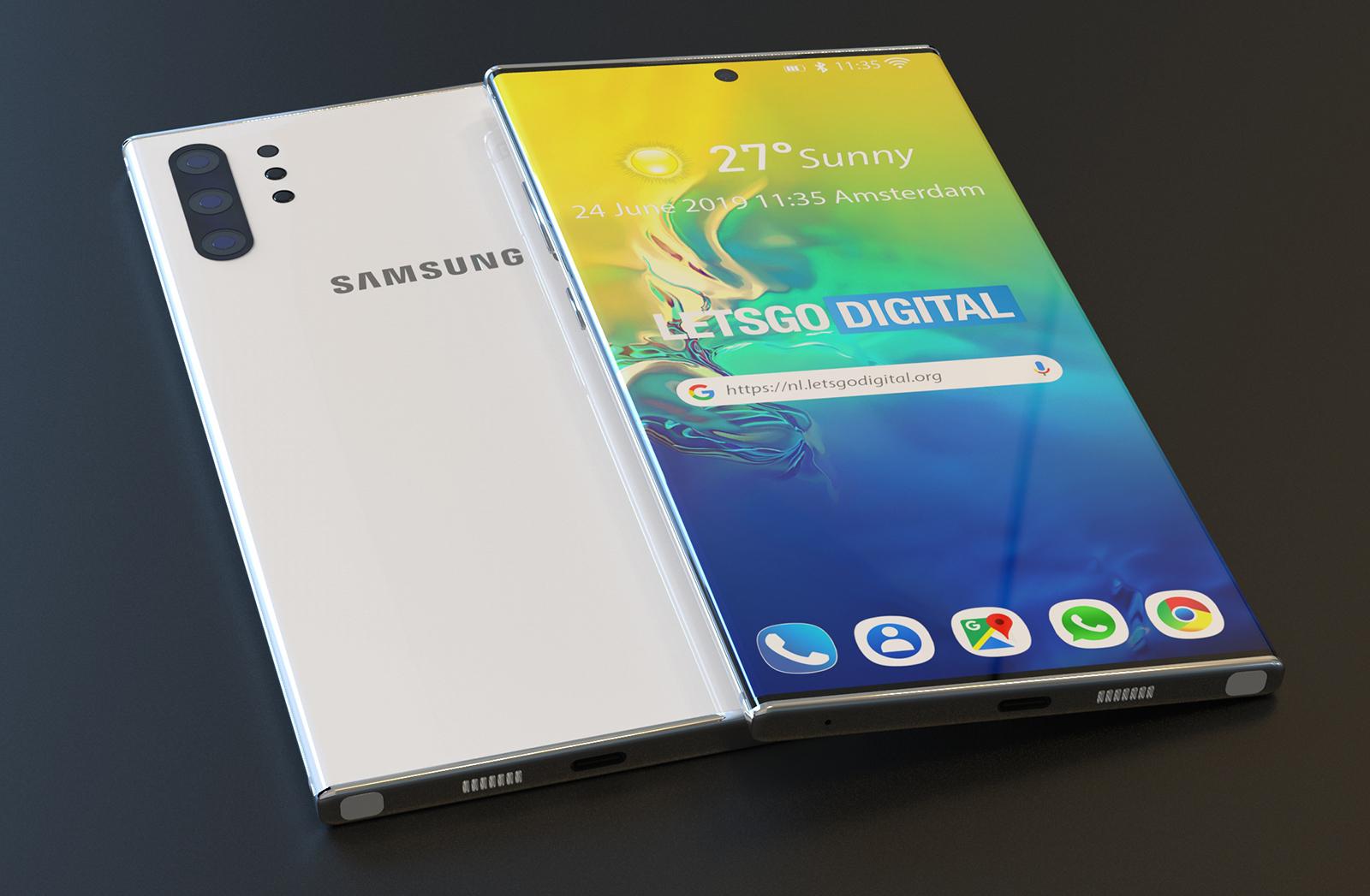 Samsung Galaxy Note 10 august release
