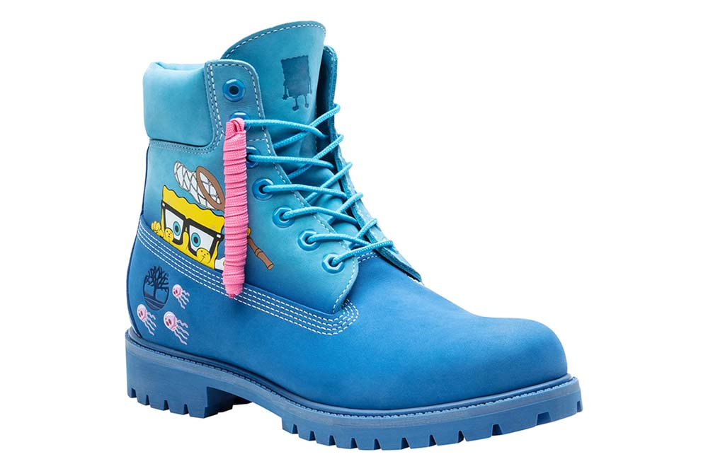 The SpongeBob x Timberland collection