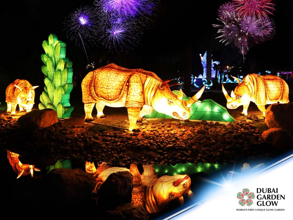 Dubai Garden Glow Reopens For Winter With Sustainable Displays Esquire Middle East