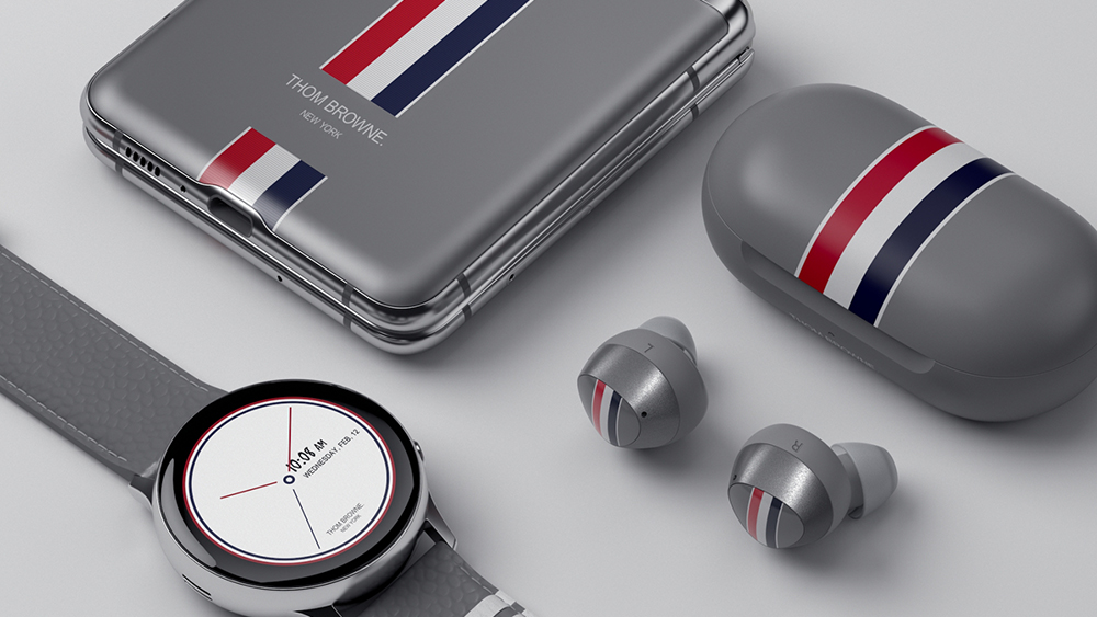 Samsung And Thom Browne Collaborate On Limited Edition Galaxy Z Flip Esquire Middle East