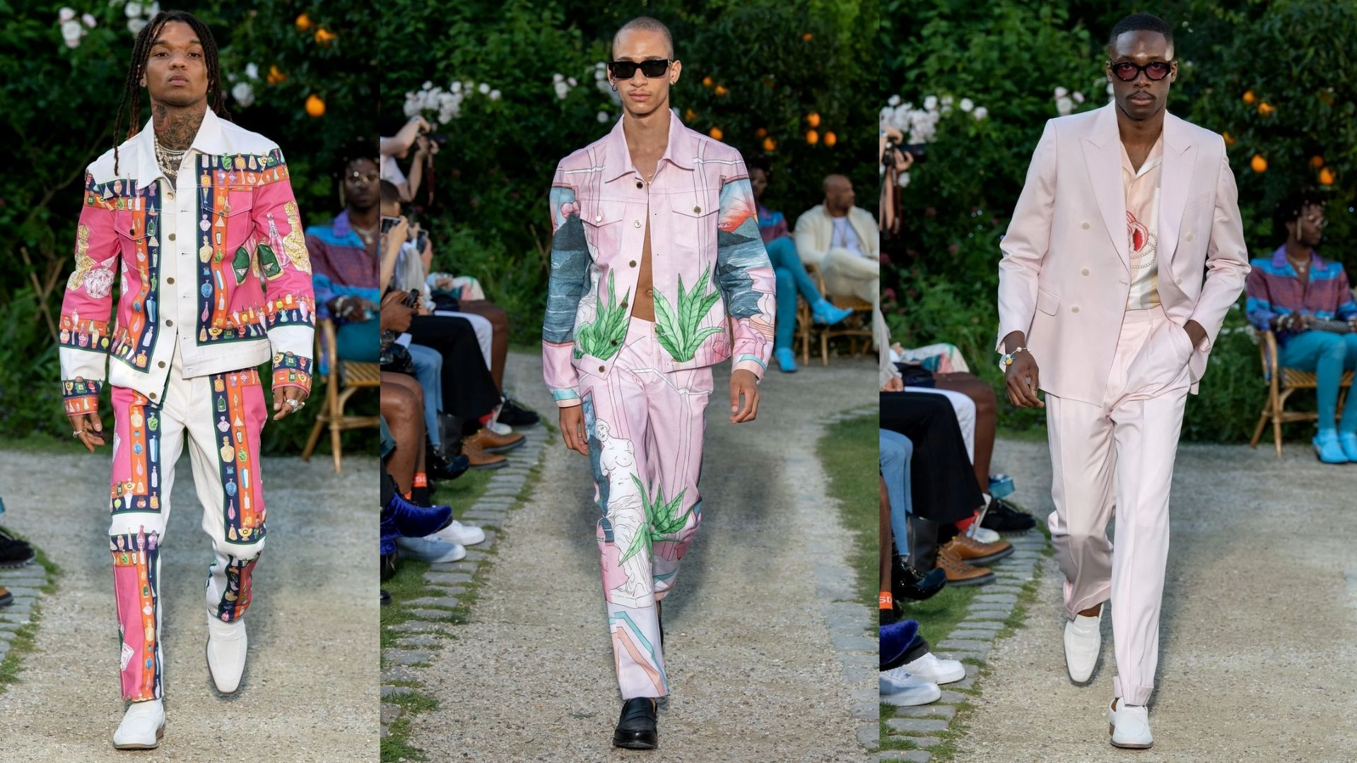 mens' fashion, fashion, casablanca, ss20,