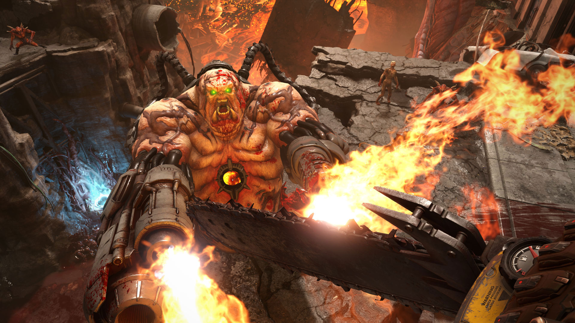 Doom Eternal Is A Disgusting Fright Fest Which Is Why It S