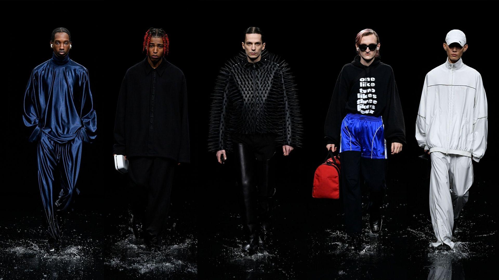 balenciaga, runway, runway report, fashion, menswear, aw20, esquire