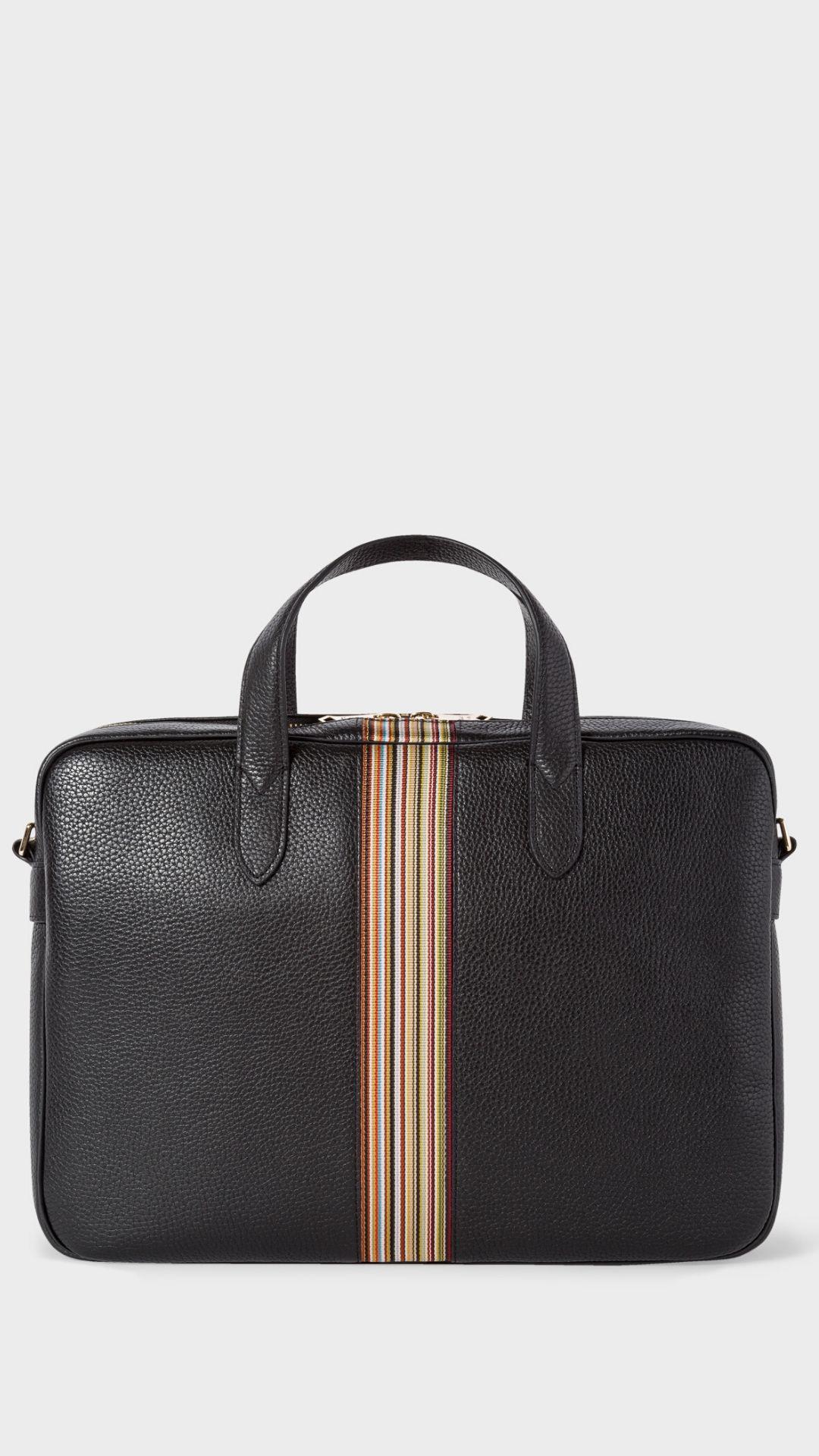 briefcase, work wear, menswear, fashion, 2020, esquire, thom browne, dunhill, bottega, dolce&gabbana,