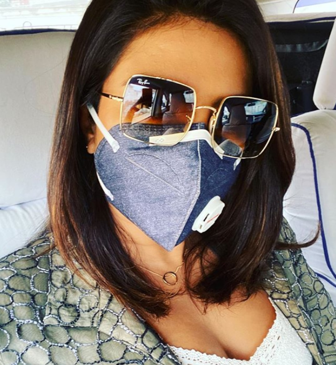 Celebrities Wear Masks To Stop The Coronavirus Updated Esquire Middle East