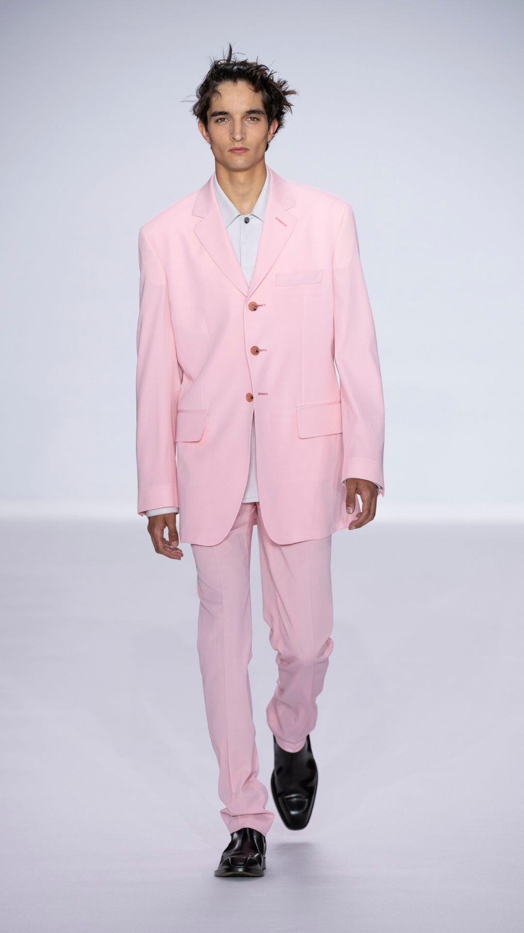 menswear, fashion, style, hues, colour coding, pink, esquire, 2020