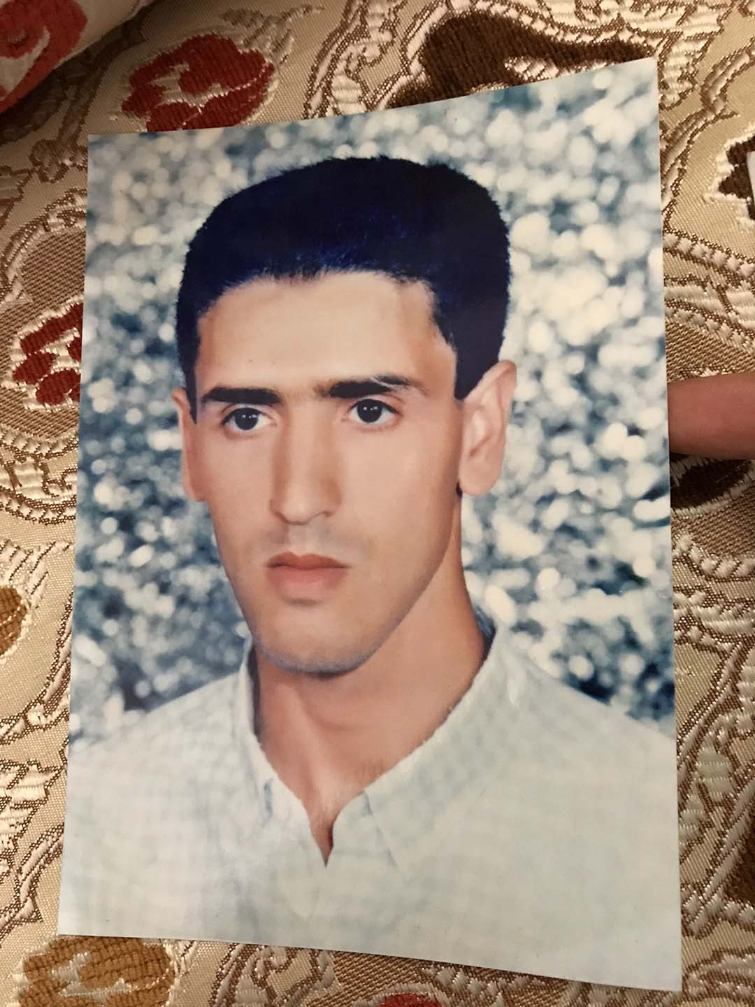 A picture of a young Abdul Latif Nasser