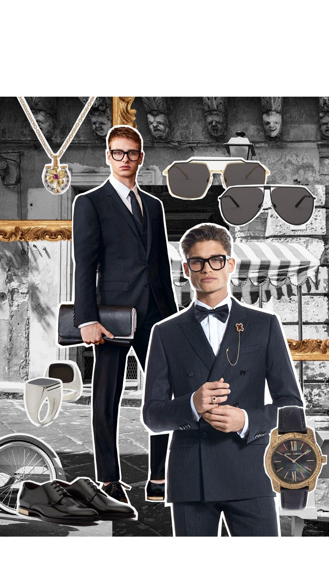 Dolce & Gabbana DNA Collection Tailoring menswear