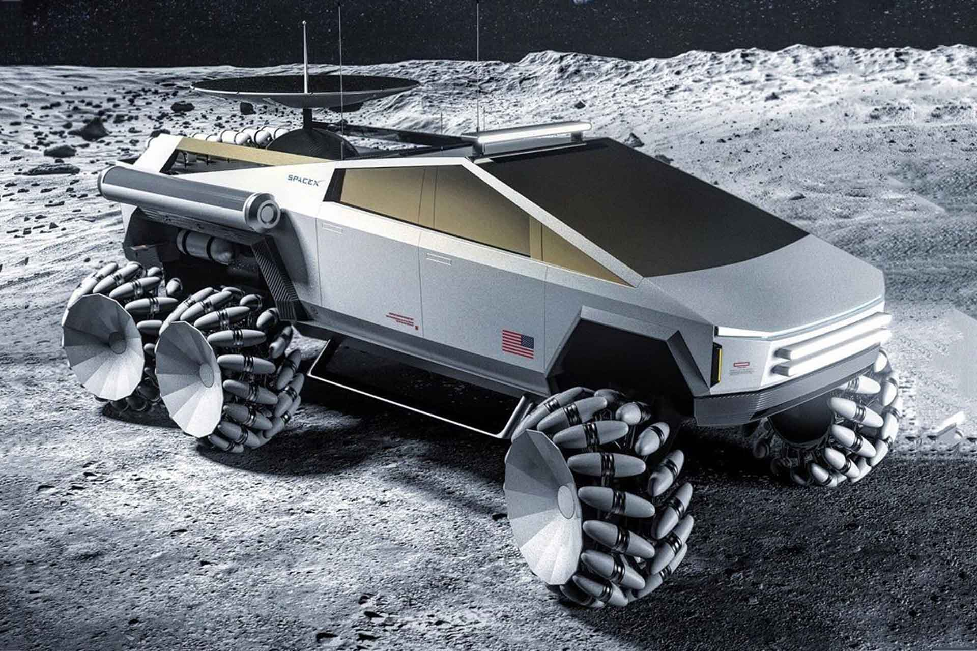 Nasa X Tesla Cybertruck Concept Looks Mean As Hell Esquire Middle East