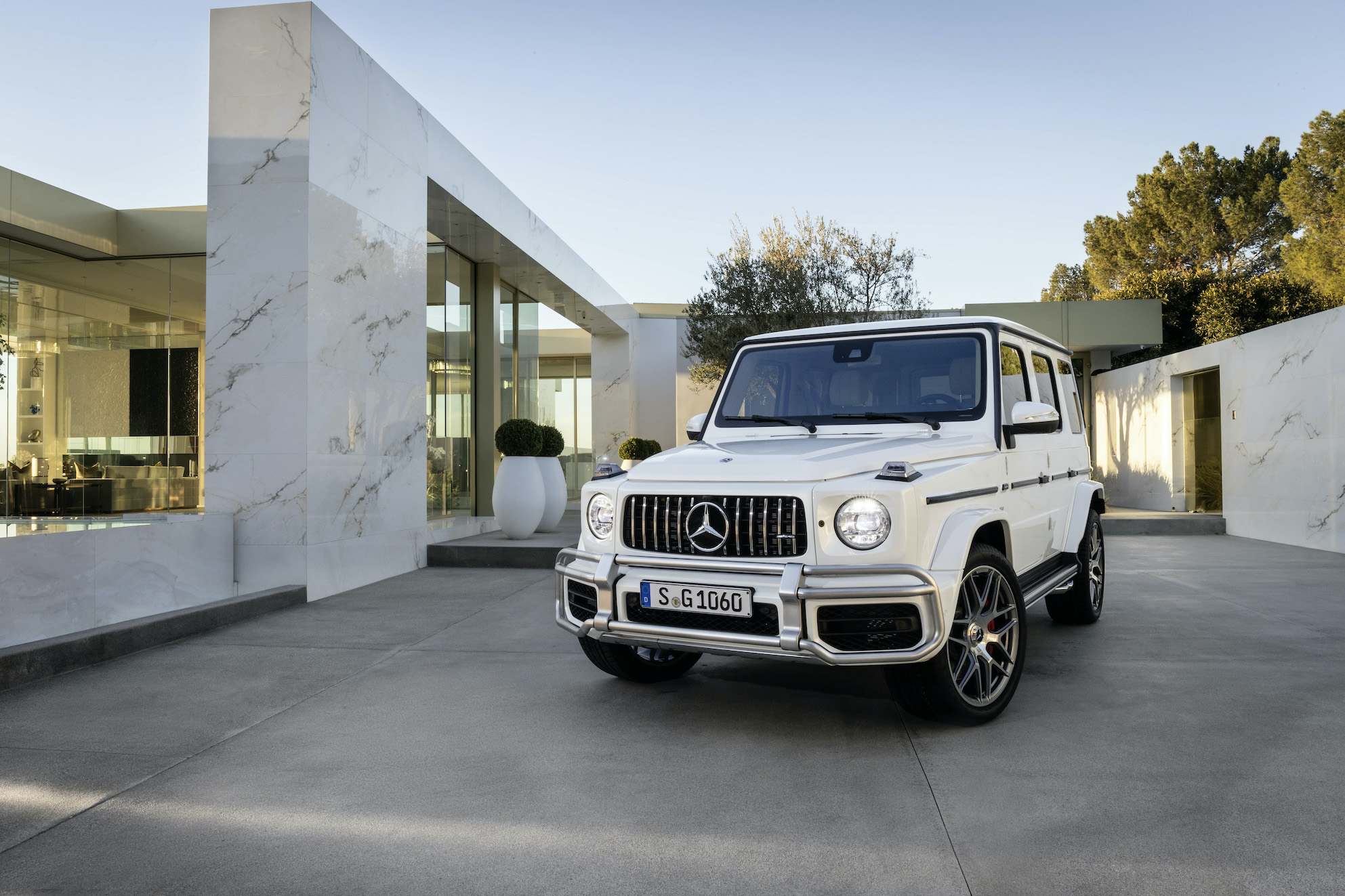 Virgil Abloh Collaborates With Mercedes Benz For A G Wagon Project Esquire Middle East