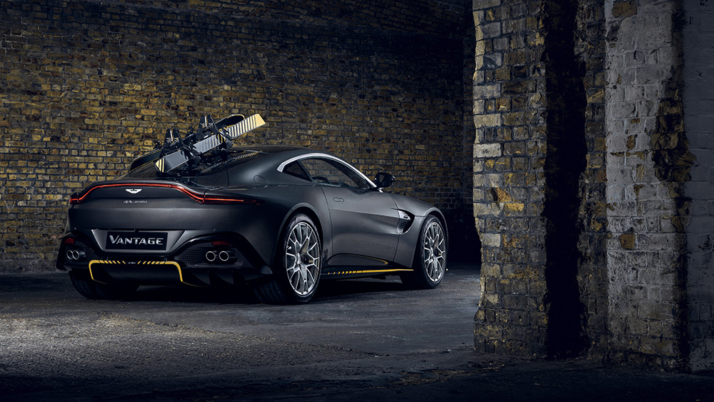 You Can Thank Q For Aston Martin S New James Bond Car Esquire Middle East