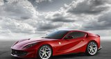 Ferrari 812 Superfast  -  The Italian marque is claiming that the 812 Superfast is the most powerful road car it has ever produced. The car is the result of major improvements to the previous F12 Berlinetta, claiming that it can hit 100kpm in 2.9sec and a top speed of 336kph. The upgraded 6.5-litre V12 produces 800hp and there is even a new colour 'Rosso Settanta' to mark the platinum anniversary of 70 years since the first V12 Ferrari was produced. Price tag: TBC.