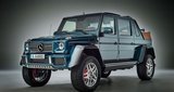 Mercedes Maybach G650 Landaulet  -  A car after the UAE's heart. Essentially a stretched G500 4x4, only 99 of these open-top G-class off-roaders three rows of seats and Maybach trimmings are planned for production. AMG have provided the 6.0-litre V12 bi-turbo 621bhp. It is expected to be available from August with no price details available yet.