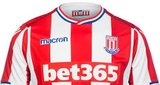Stoke City - Stoke City aren't a pretty football side. They don't play pretty football in a pretty city and they don't make pretty signings. This kit however? This is actually pretty pretty. The red, blue, and white trim have really turned a straightforward strip into something a bit more special. 8/10.